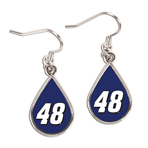 Wincraft NASCAR Jimmie Johnson Jewelry Carded Earrings