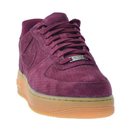 Nike Air Force 1'07Suede zapatos de la mujer Deep Garnet/Deep Garnet 749263–