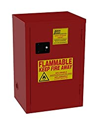 Jamco Products Inc BP18-RP Safety Flammable Cabinet For Paint, 23-Inch x 18-Inch x 35-Inch