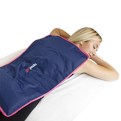 Extra Large Ice Pack for Injuries - Covers Entire Back, Hips, Neck and Spine. Reusable and Flexible Direct from The Freezer (by Magic Gel) (Pain In The Upper Thigh Hip Area)