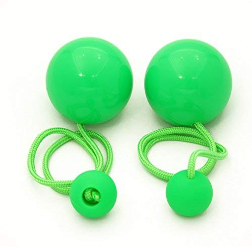Play Juggling Contact Pendulum Poi 80mm (Green) by Play Juggling (Image #1)