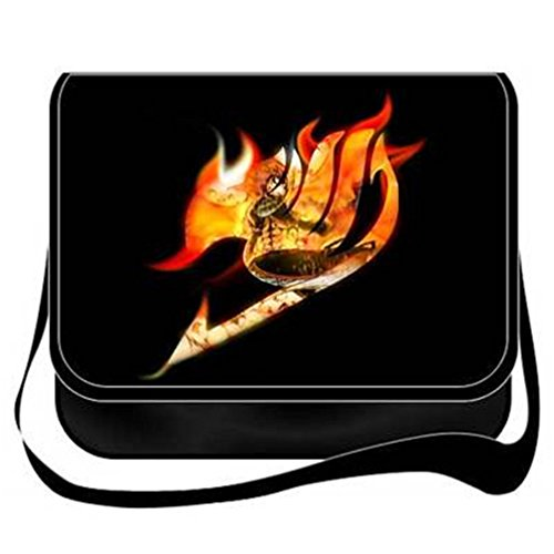 yoyoshome Fairy Tail Anime Cosplay Messenger Bag Umhängetasche Handtasche Umhängetasche Rucksack Schultasche 12