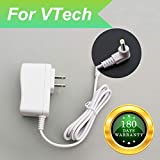 For Vtech Baby Monitor Charger Power Cord Replacement Adapter Supply for Vtech DM221 DM222 DM223 DM251 DM271 DM111 DM112 Parent Unit and Baby Unit, DC 6V Round Port 6.6Ft