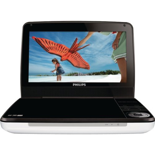 "Philips 9"" Portable LCD DVD Player PHLPD9000"