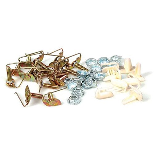 Eckler's Premier Quality Products 40-281996 Full Size Chevy Molding Clips, Quarter Paint Divider,