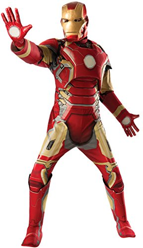 Iron Man Mark 43 Marvel Men Costume Multi, Standard