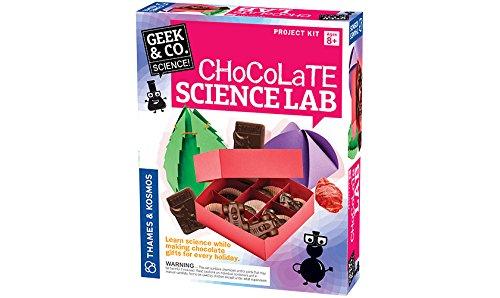 Geek & Co. Science Chocolate Science Lab Kit Chocolate Kit