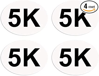 Safety Pin Replacement I Run to Burn The Crazy Off BibBoards SNAP /& Lock for Event//Race Bibs Pinless Race//Event Bib Number Fasteners