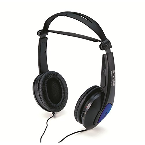 Kensington K33084 Noise Canceling Headphone, Black
