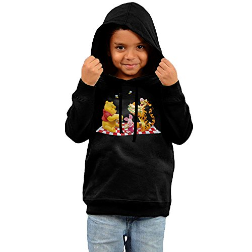 [PliPaLa Children's Hoodies Winnie Size 3 Toddler Black] (Miley Cyrus Disney Costume)