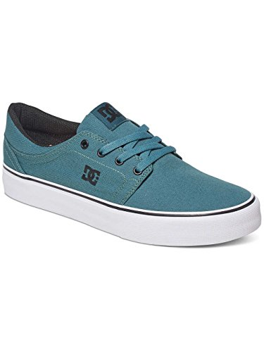 DC Trase TX M Shoe Frn, Sneaker Basse Uomo Bleu - Sea