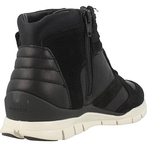 Calzado deportivo para mujer, color Negro , marca GEOX, modelo Calzado Deportivo Para Mujer GEOX D SUKIE A Negro Negro