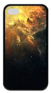 iPhone 4 4s Cases & Covers - Space Galaxy Custom TPU Soft Case Cover Protector for iPhone 4 4s - Black