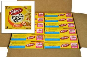 Totino's Cheese Pizza Rolls, 7.5 oz., (12 per case)