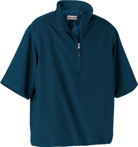 North End Mens MICRO Plus Short Sleeve Windshirt with Teflon. 88084 - X-Large - Midnight Navy