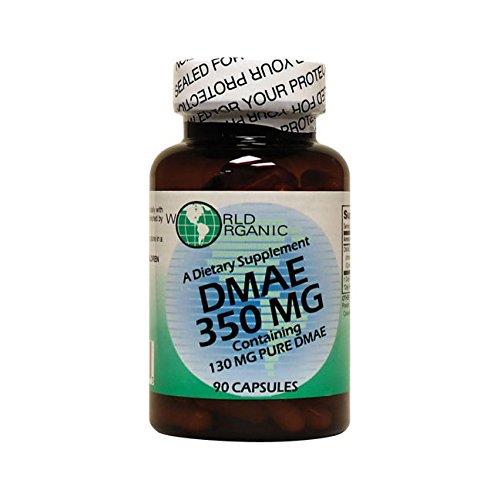 World Organic DMAE 350mg 90 caps