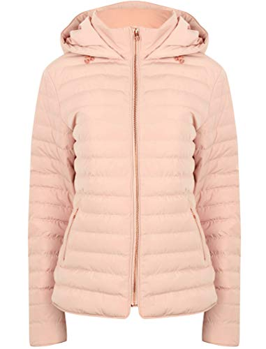 Blush Pink Hooded Laundry Ladies Tokyo Jacket Womens Coat Ginger Padded x8qPFRwv