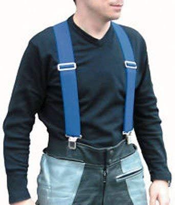 RIDER ACCESSORIES BIKEIT MOTO-BRACE BRACES BLUE