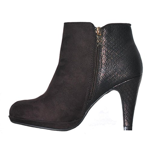 ☼ELEN☼ Bottines à talon - Xti - Ref: 0842 HSpq0