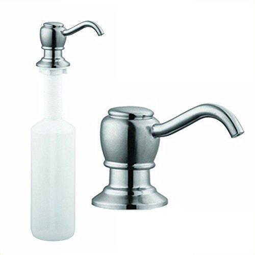 Stainless Steel Kitchen Sink Liquid Soap Pump Lotion Dispens