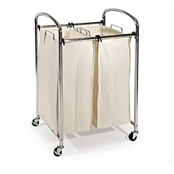 Amazon Com 2 Bag Laundry Sorter Laundry Sorter Two Bag
