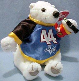 Coca Cola Bean Bag Plush NASCAR Driver Kyle Petty (Nascar Driver Bean Bag)