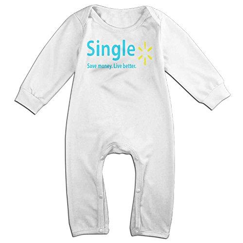 [HOHOE Newborn Single Long Sleeve Bodysuit Outfits 18 Months] (Hulk Hogan Costume Amazon)