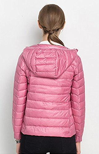 Lightweight Winter Packable Womens Down Hooded Jacket Short Santimon Jacket Casual XYvC8Yx
