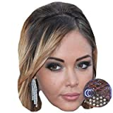 Celebrity Cutouts Nabilla Benattia Big Head. Larger Than Life mask.