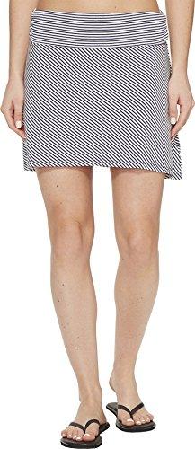CARVE Designs Women's Bennett Flirt Skirt Anchor Caribbean Stripe Skirt