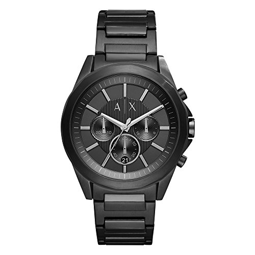 Armani Exchange Men's AX2601 Black IP Watch