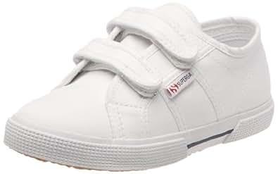 Superga 2950-COVJ S004AY0 - Zapatillas de lona para niños, color blanco, talla 32