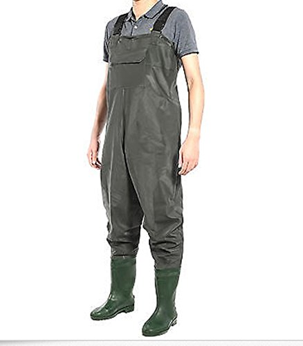 Waterproof overall chest waders fishing hunting for Fishing waders amazon