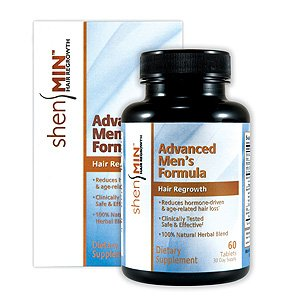 Shen Min Hair Regrowth, Advanced Men's Formula, 60 Tabs