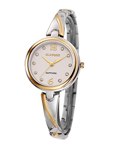 Lady Bracelet Wrist Quartz Watch Stainless Steel with Fashion Style Women Watches