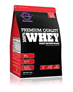 Pure Product Australia Whey Protein Isolate Powder, Vanilla 1 kilograms