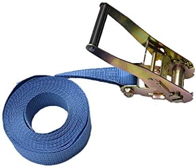 Ratchet Tie Down Straps heavy duty 2in wide 10ft20ft1 polyester Securing Straps4 liters18mm thick steel tight ropefixed cargo safer for goods Size6m