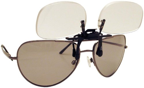 Fisherman Eyewear Flip n Focus Magnifier - Fishing Polarized Magnifiers With Sunglasses
