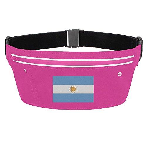 Price comparison product image Waist Pack Bag Argentina Flag Running Belt Ultrathin Hide Purse Adjustable Waterproof Outdoor