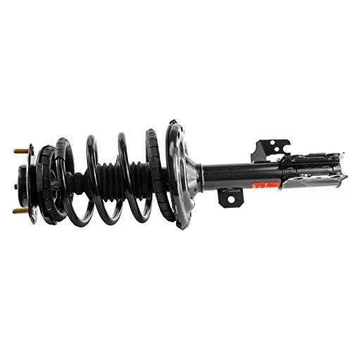 2 Detroit Axle Both New Rear Driver /& Passenger Side Complete Quick Strut /& Spring Assembly for Pontiac Vibe Toyota Corolla and Matrix FWD