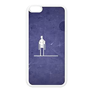 8Bit - Marvel SilverSurfer White Silicon Hard Case for iphone 5 5s by DevilleArt + FREE Crystal Clear Screen Protector