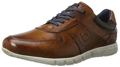 Men 322310011100 Sneakers Top Low Bugatti cognac Brown wgUqw