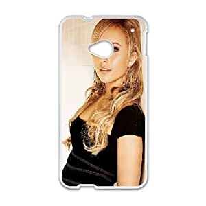 Celebrities Hayden Panettiere HTC One M7 Cell Phone Case White Delicate gift JIS_334228