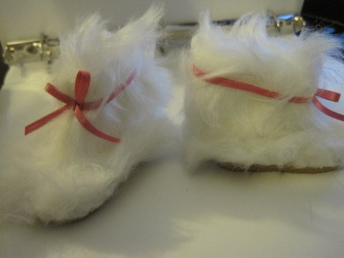 Our generation FURRIOUSLY FANCY 18 Doll BOOTS FUR Moccasins Accessories by (Angels Winter Boots)