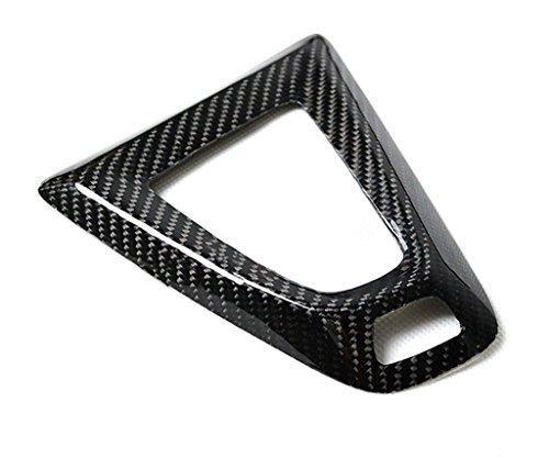 Eppar New Carbon Fiber Shift Knob Cover for BMW M4 (F82) 2014-2018 (Shift Knob Under Cover 1PC)