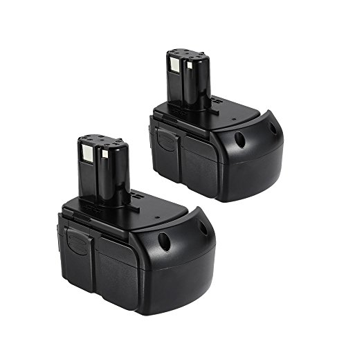 18VOLT 4.0AH Li-Ion Battery for HITACHI BCL1815 EBM1830 C6DD CJ18DL CJ18DLP4 CJ18DLX CR18DL CR18DLP4 CR18DLX CR18DMR CR18DV Cordless Drill Power Tool 2 PACK Review