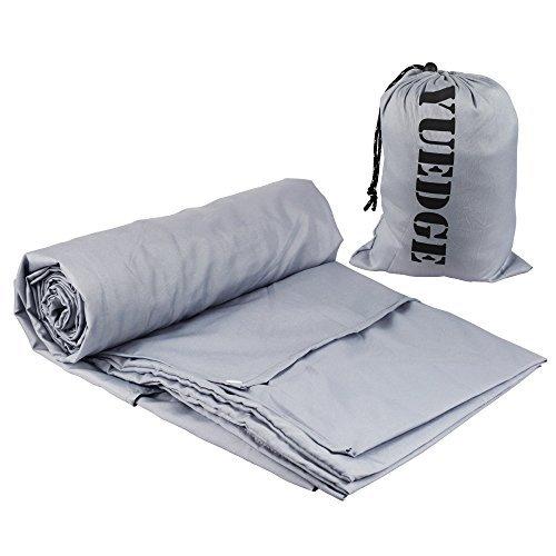 Travel And Camping Sheet - Sleeping Bag Liner w/ Stuff Sack