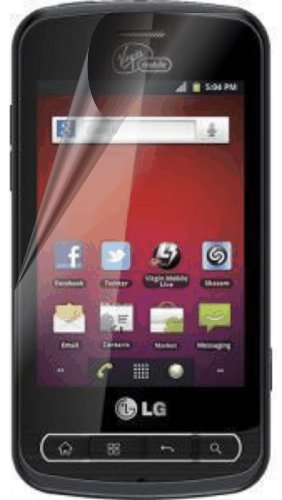 LG OPTIMUS SLIDER LS700 Sprint Virgin Mobile XtremeGUARD Screen Protector (Ultra CLEAR XTREMEGUARD Packaging)