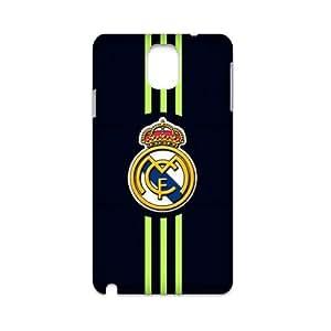 RAROFU The Spanish football team Real Madrid Club Custom Case for Samsung Galaxy Note 3 N9000 3D