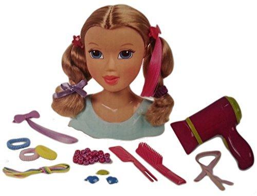 Kid Connection Beauty Salon - Blonde Styling Head Doll